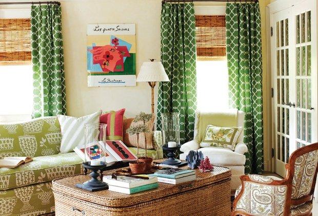 Фотография: Гостиная в стиле Прованс и Кантри, Современный, Декор интерьера, Декор дома, Ковер – фото на INMYROOM