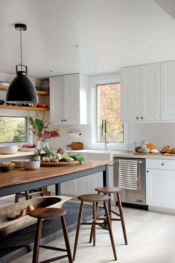 Фотография: Кухня и столовая в стиле Скандинавский, Квартира, Советы, уборка, Мэри Кондо, секреты уборки, как облегчить процесс уборки – фото на INMYROOM