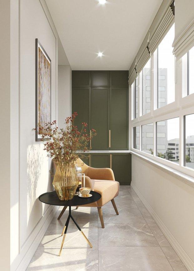 Фотография:  в стиле , Советы, балкон в квартире – фото на INMYROOM