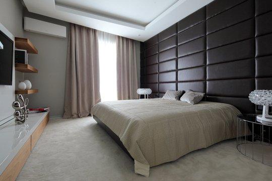 Фотография: Спальня в стиле Современный, Квартира, Дома и квартиры – фото на INMYROOM
