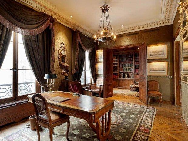 Фотография: Офис в стиле Классический, Дизайн интерьера, Викторианский, Ампир – фото на INMYROOM