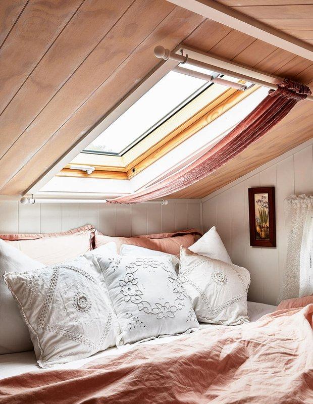 Фотография: Спальня в стиле Скандинавский, Дом, Австралия, Дом и дача, 2 комнаты, до 40 метров – фото на INMYROOM