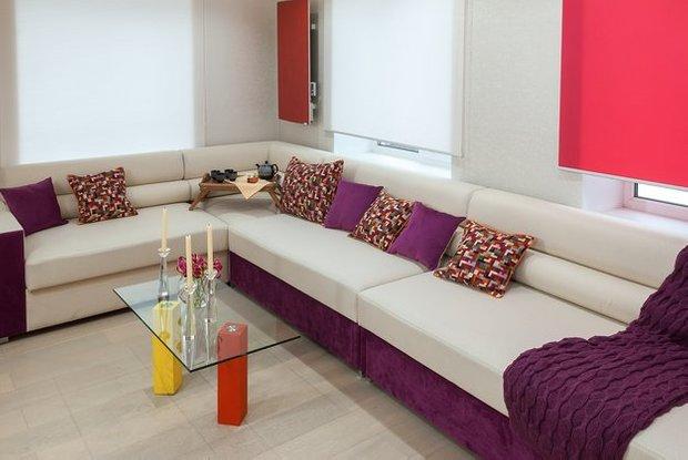 Фотография: Гостиная в стиле Современный, Дом, Дома и квартиры – фото на INMYROOM