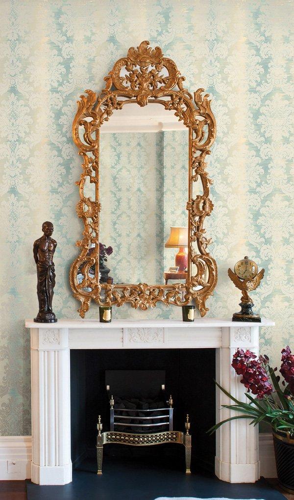 Фотография: Декор в стиле Прованс и Кантри, Гостиная, Интерьер комнат, Картины, Зеркало – фото на INMYROOM