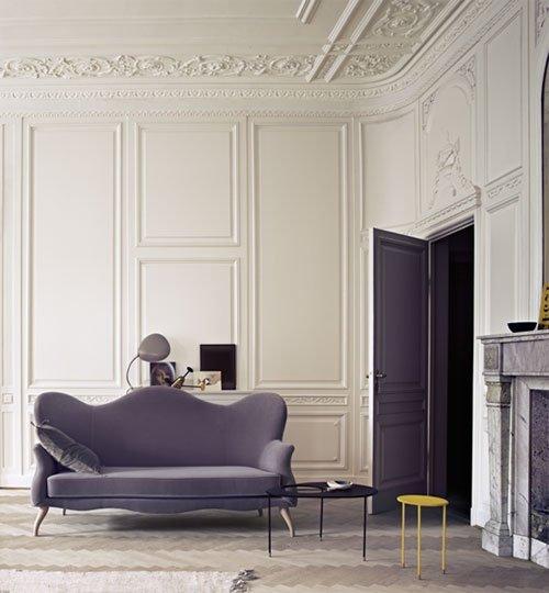 Фотография: Гостиная в стиле Эклектика, Декор интерьера, Декор дома, Стеновые панели – фото на INMYROOM