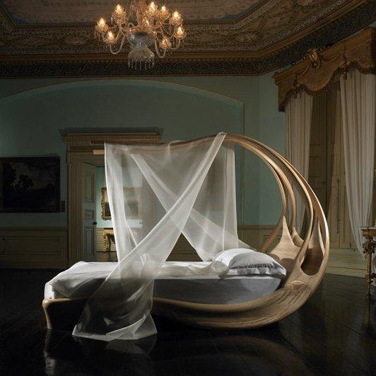 Фотография: Спальня в стиле Прованс и Кантри, Классический, Современный, Декор интерьера, Малогабаритная квартира, Мебель и свет, Готический – фото на InMyRoom.ru