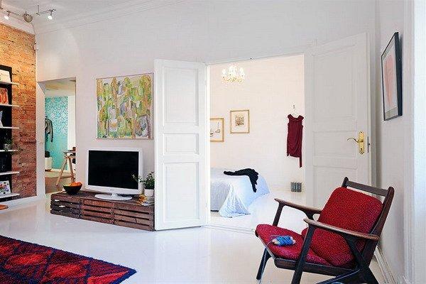 Фотография: Гостиная в стиле Скандинавский, Декор интерьера, Декор дома, Картины, Современное искусство – фото на INMYROOM