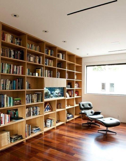 Фотография:  в стиле Современный, Хранение, Стиль жизни, Советы, Библиотека – фото на INMYROOM