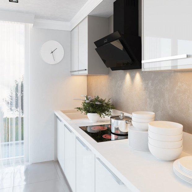 Фотография:  в стиле , Советы, маленькая кухня, OBI, рабочая зона на кухне – фото на INMYROOM