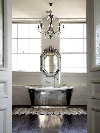Фотография: Ванная в стиле Прованс и Кантри, Декор интерьера, Дом, Декор дома, Цвет в интерьере – фото на INMYROOM