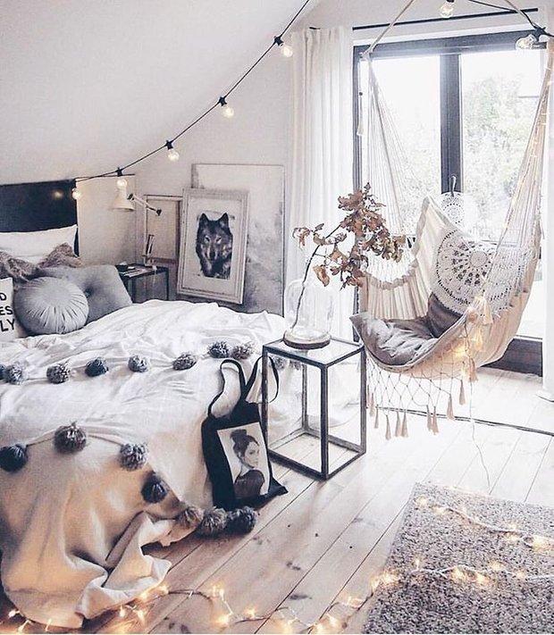 Фотография: Спальня в стиле Скандинавский, Декор интерьера, Дача, Дом и дача – фото на INMYROOM