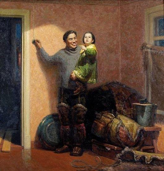 Геннадий Семаков «В новых условиях» 1957