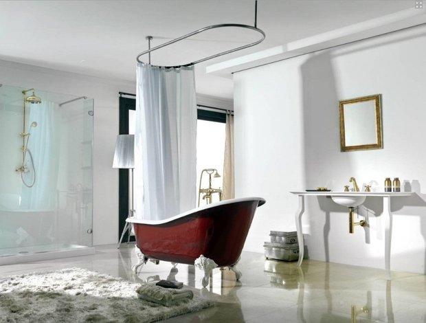 Фотография: Ванная в стиле Классический, Эклектика, Интерьер комнат – фото на INMYROOM