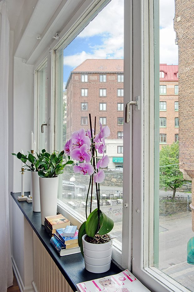 Фотография: Декор в стиле Скандинавский, Малогабаритная квартира, Квартира, Дома и квартиры – фото на INMYROOM