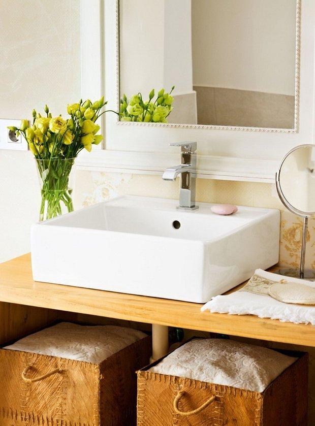 Фотография: Ванная в стиле Прованс и Кантри, Современный, Декор интерьера, DIY, Дом, Системы хранения – фото на INMYROOM