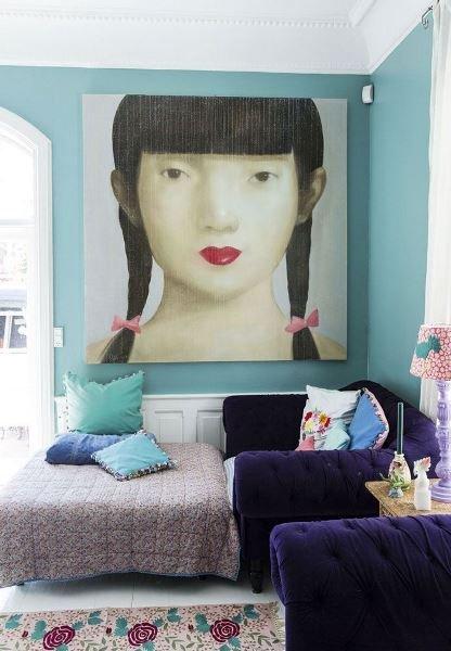 Фотография: Декор в стиле Восточный, Декор интерьера, Квартира, Аксессуары, Советы, чем украсить пустую стену, идеи декора пустой стены – фото на INMYROOM