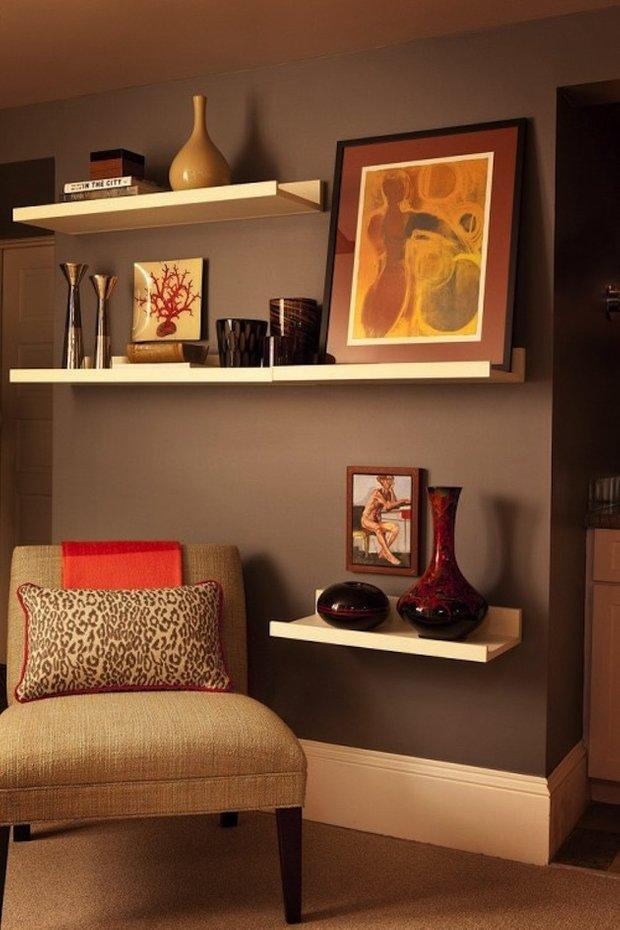 Фотография: Декор в стиле Современный, Восточный, Декор интерьера, Декор дома, Стеллаж, Полки, Домашняя библиотека – фото на INMYROOM