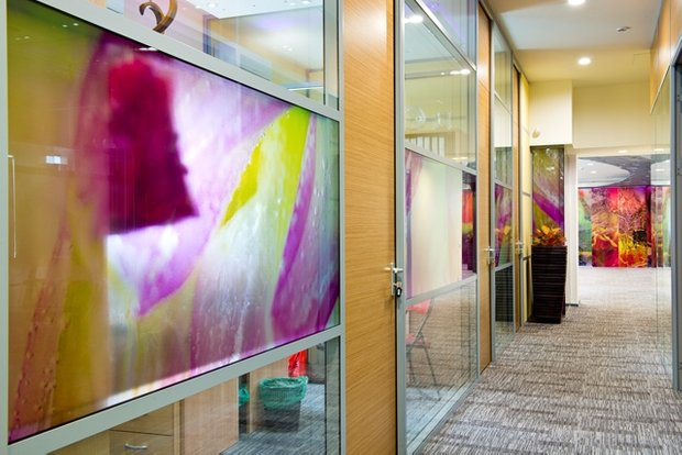 Фотография: Офис в стиле Современный, Декор интерьера, Офисное пространство, Мебель и свет – фото на INMYROOM