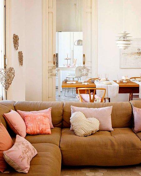 Фотография: Гостиная в стиле Скандинавский, Декор интерьера, Квартира, Дома и квартиры, Барселона, Модерн – фото на INMYROOM