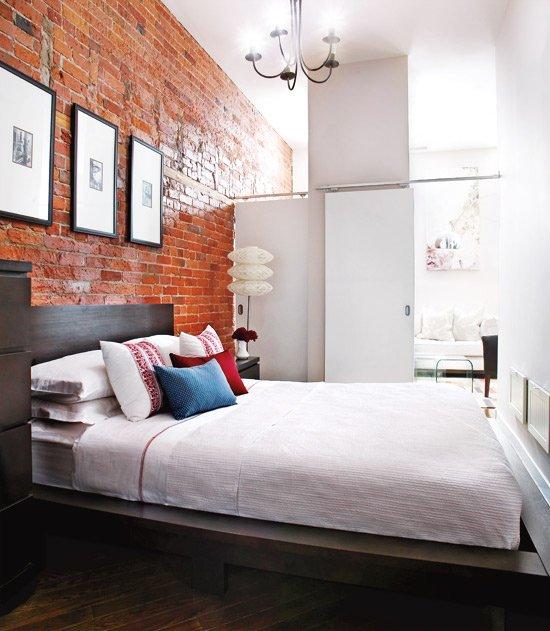 Фотография: Спальня в стиле Лофт, Современный, Декор интерьера, Квартира, Дом, Цвет в интерьере, Стиль жизни, Советы – фото на INMYROOM