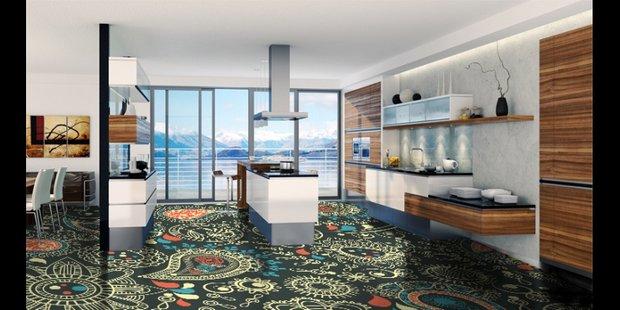 Фотография: Кухня и столовая в стиле Современный, Декор интерьера, Декор дома, Ковер – фото на INMYROOM