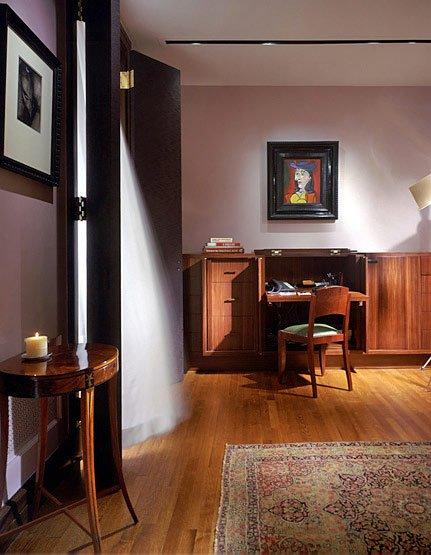 Фотография: Офис в стиле Прованс и Кантри, Классический, Современный, Дома и квартиры, Интерьеры звезд, Ар-деко – фото на INMYROOM