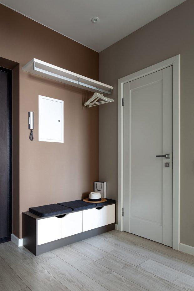 Фотография:  в стиле , Современный, Квартира, Проект недели, 1 комната, 40-60 метров, Анна Иноземцева – фото на INMYROOM