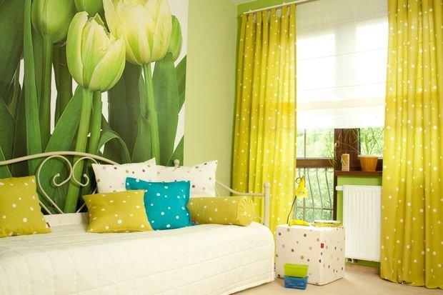 Фотография: Ландшафт в стиле , Спальня, Декор интерьера, Квартира, Дом, Декор, Зеленый – фото на INMYROOM