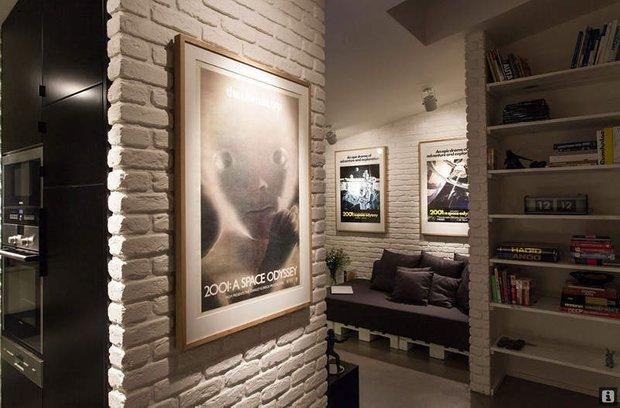 Фотография: Гостиная в стиле Современный, Скандинавский, Декор интерьера, Квартира, Дома и квартиры, Индустриальный – фото на INMYROOM