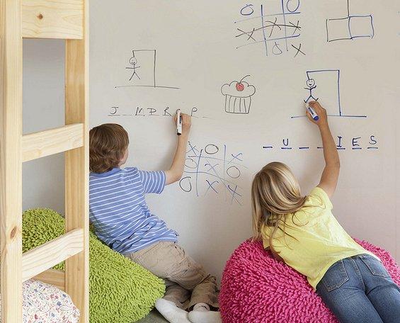 Фотография: Спальня в стиле Лофт, Детская, Интерьер комнат – фото на INMYROOM