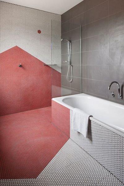 Фотография: Ванная в стиле Лофт, Декор интерьера, Декор дома, Пол – фото на InMyRoom.ru