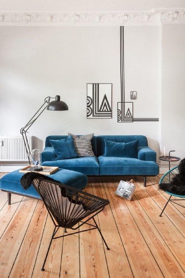 Фотография: Гостиная в стиле Современный, Декор интерьера, DIY, Декор дома, Фотообои – фото на INMYROOM