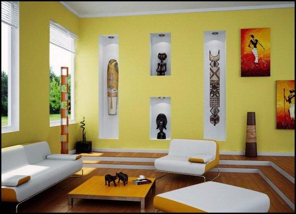 Фотография: Гостиная в стиле , Декор интерьера, Дизайн интерьера, Цвет в интерьере, Dulux, ColourFutures, Akzonobel – фото на INMYROOM