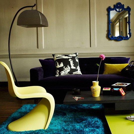 Фотография: Гостиная в стиле Эклектика, Декор интерьера, Квартира, Дом, Интерьер комнат – фото на INMYROOM