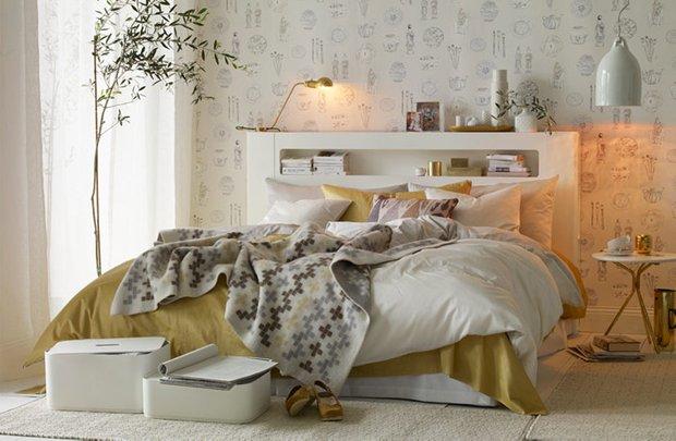 Фотография: Спальня в стиле Скандинавский, Современный, Декор интерьера, Интерьер комнат, Проект недели – фото на INMYROOM