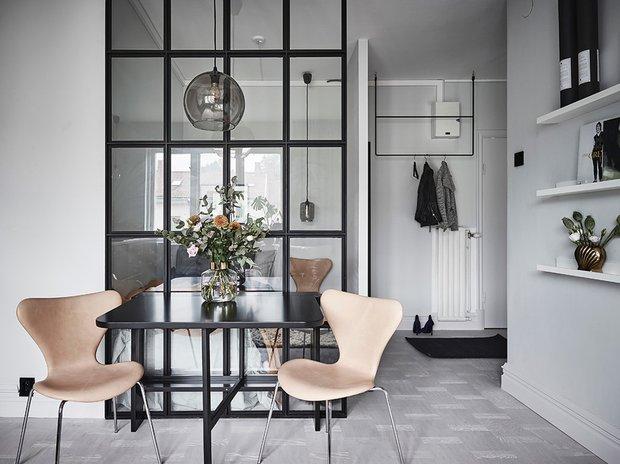 Фотография: Кухня и столовая в стиле Скандинавский, Декор интерьера, Квартира, Студия, до 40 метров – фото на INMYROOM