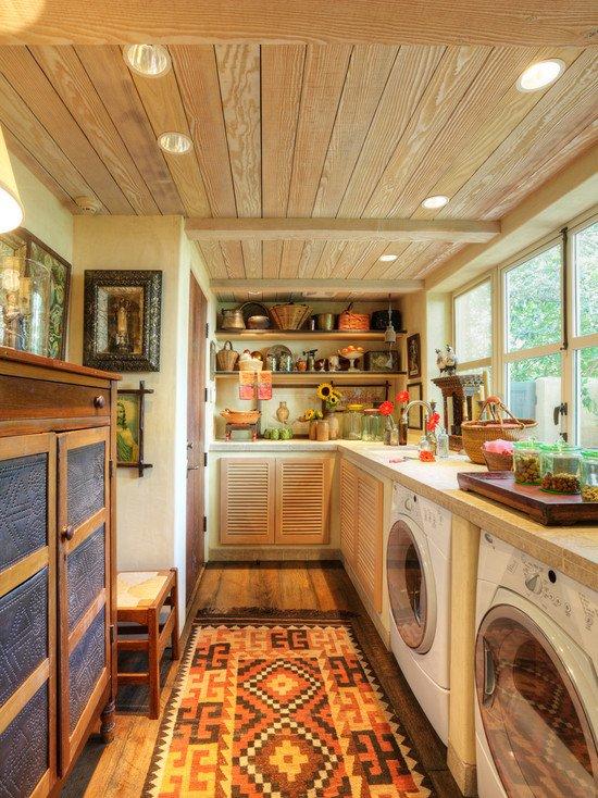 Фотография: Кухня и столовая в стиле Прованс и Кантри, Современный,  – фото на INMYROOM