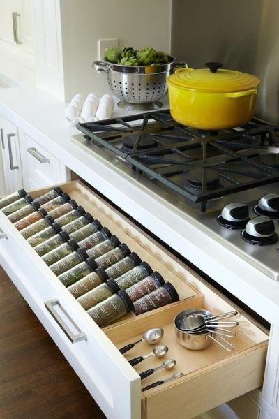 Фотография:  в стиле , Кухня и столовая, Советы, как организовать систему хранения на кухне – фото на INMYROOM