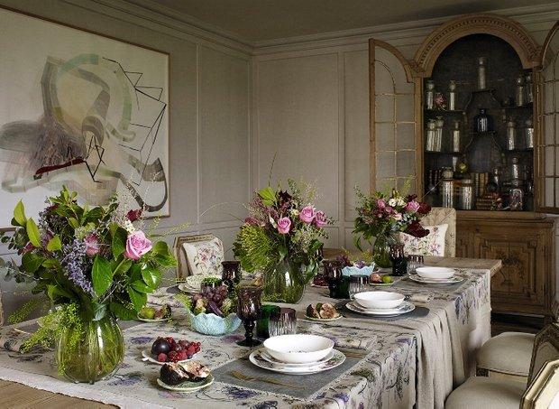 Фотография: Кухня и столовая в стиле Прованс и Кантри, Декор интерьера, Квартира, Дом, Декор дома, Текстиль, Zara Home – фото на INMYROOM