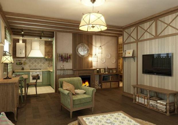 Фотография: Гостиная в стиле Прованс и Кантри, Декор интерьера, Квартира, Дом, Декор, Бежевый – фото на INMYROOM
