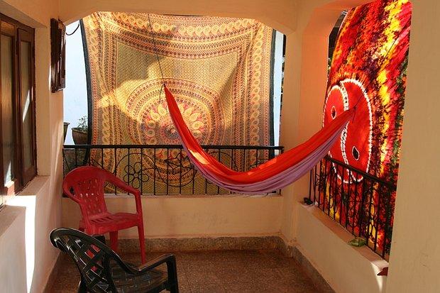 Фотография: Прочее в стиле , Балкон, Интерьер комнат, специальная тема: балконы, Гамак – фото на INMYROOM