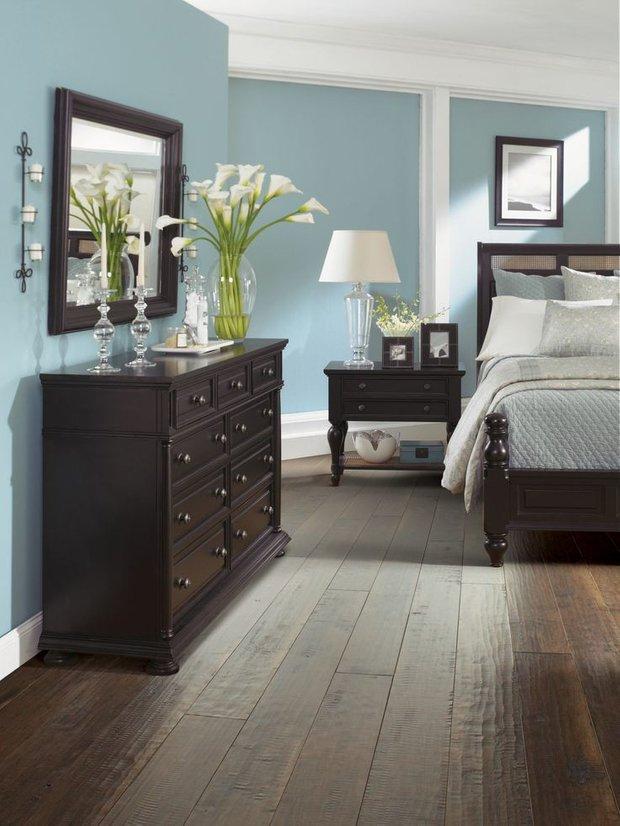 Фотография: Спальня в стиле Классический, Декор интерьера, Дизайн интерьера, Цвет в интерьере – фото на INMYROOM