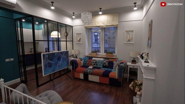 Фотография: Кухня и столовая в стиле Лофт, Квартира, Москва, Гид, Кирпичный дом, 1 комната, до 40 метров – фото на INMYROOM