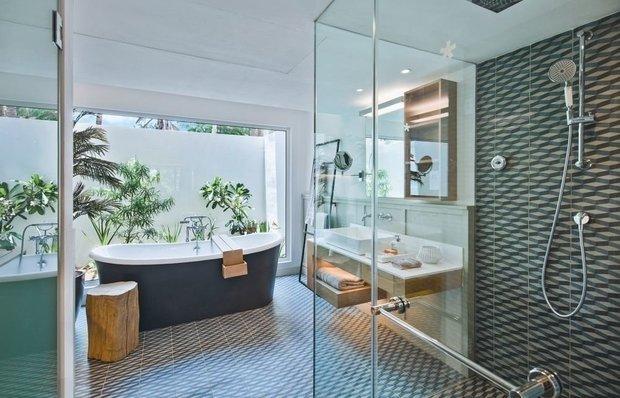 Фотография: Ванная в стиле Эко, Гид – фото на INMYROOM