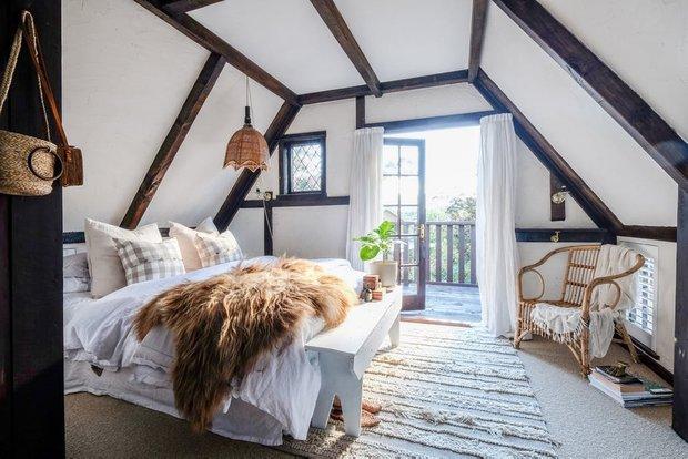 Фотография: Спальня в стиле Скандинавский, Декор интерьера, Дом, Дача, Дом и дача – фото на INMYROOM