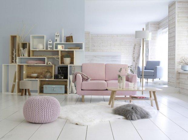 Фотография: Гостиная в стиле Лофт, Современный, Декор интерьера, Дизайн интерьера, Цвет в интерьере, Белый – фото на INMYROOM