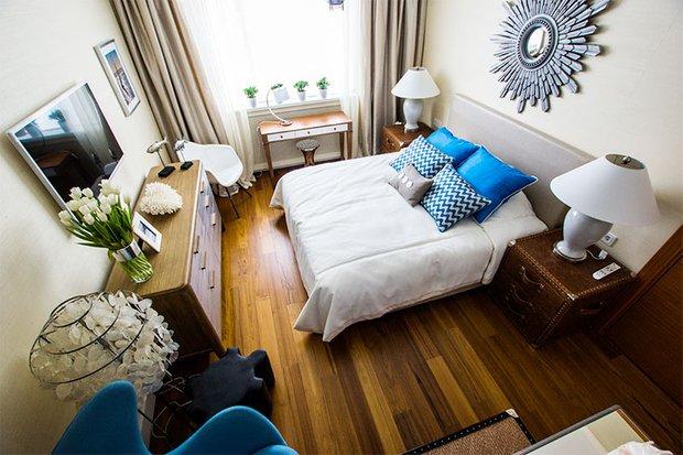 Фотография: Спальня в стиле Современный, Декор интерьера, Интерьер комнат, Морской – фото на INMYROOM