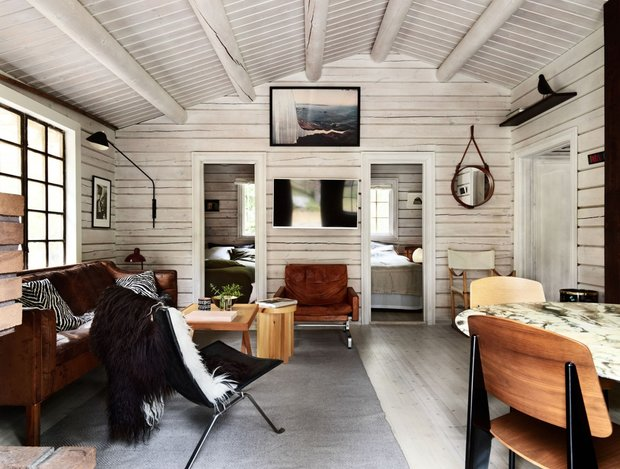 Фотография:  в стиле , Декор интерьера, Дача, Серый, Дом и дача – фото на InMyRoom.ru