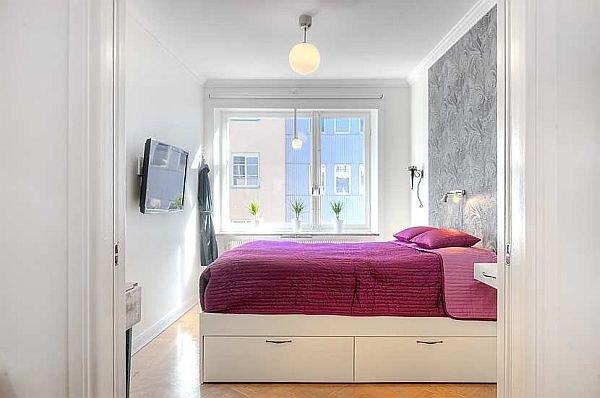 Фотография: Спальня в стиле Скандинавский, Современный, Интерьер комнат, Советы – фото на INMYROOM