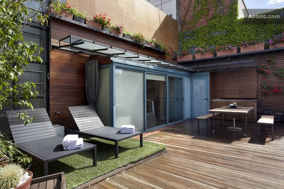 Фотография: Терраса в стиле Прованс и Кантри, Квартира, Дома и квартиры, Барселона, Airbnb – фото на INMYROOM